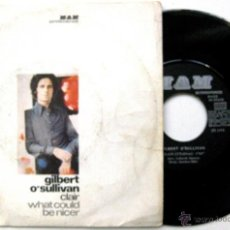 Discos de vinilo: GILBERT O'SULLIVAN - CLAIR / WHAT COULD BE NICER - SINGLE MAM 1972 BPY. Lote 58228044