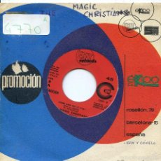 Discos de vinilo: THE MAGIC CHRISTIANS / COME AND GET IT (P,MCCARNEY) BEATLES (SINGLE PROMO 1970). Lote 58228373