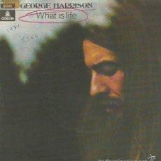 Discos de vinilo: GEORGE HARRISON BAND (BEATLES) SINGLE SELLO EMI-ODEON AÑO 1971 EDITADO EN ESPAÑA. Lote 58228724