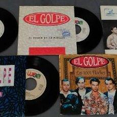 Discos de vinilo: LOTE 5 SINGLES EL GOLPE. Lote 58229665