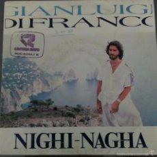 Discos de vinilo: GIANLUIGI DI FRANCO. Lote 58231282