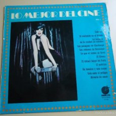 Discos de vinilo: L.P. LO MEJOR DEL CINE,VOLUMEN.1- CABARET, EL ALAMO, EL PADRINO, HISTORIA DE AMOR,Y MUCHOS MÁS.. Lote 58231327