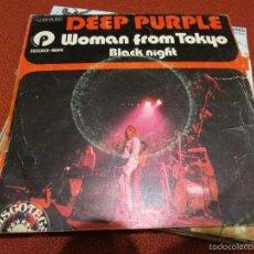 Discos de vinilo: DEEP PURPLE WOMAN FROM TOKYO. Lote 58232623