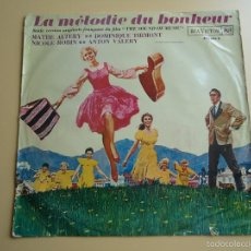 Discos de vinilo: L.P. BANDA SONORA EN FRANCES DE LA PELÍCULA, SONRISAS Y LAGRIMAS. ( THE SOUND OF MUSIC.). Lote 58233024