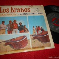 Discos de vinil: LOS BRAVOS COMO NADIE MAS/I'VE BEEN HEARING THINGS 7 SINGLE 1967 COLUMBIA. Lote 58233701
