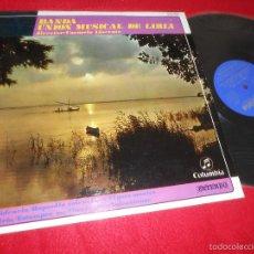 Disques de vinyle: BANDA UNION MUSICAL DE LIRIA CARMELO LLORENTE VALENCIA/LIRIA/VALENCIANAS+++ LP 1967 COLUMBIA PROMO. Lote 58236574