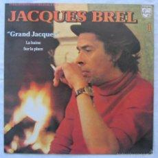 Discos de vinilo: JACQUES BREL GRAND JACQUES 1956. Lote 58238434