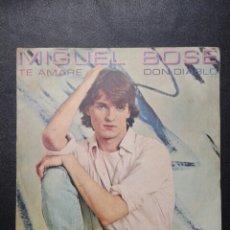 Discos de vinilo: DISCO SINGLE DE MIGUEL BOSE, DON DIABLO. Lote 58240651