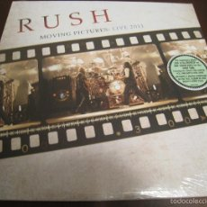 Discos de vinilo: RUSH - LP - MOVING PICTURES LIVE - EDICION USA. Lote 58241360