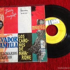 Discos de vinilo: LOS MILLONARIOS DE LA CANCIÓN CON SALVADOR ESCAMILLA .- ROMEO + 3 TEMAS EP 1962. Lote 58242690