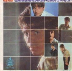 Discos de vinilo: RAPHAEL .. SINGLE EP. Lote 58245961