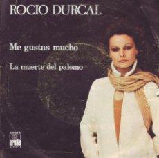 Discos de vinilo: ROCIO DURCAL .. SINGLE. Lote 58246050