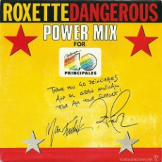 Discos de vinilo: ROXETTE. DANGEROUS. POWER MIX (VINILO SINGLE 1990). Lote 58247724