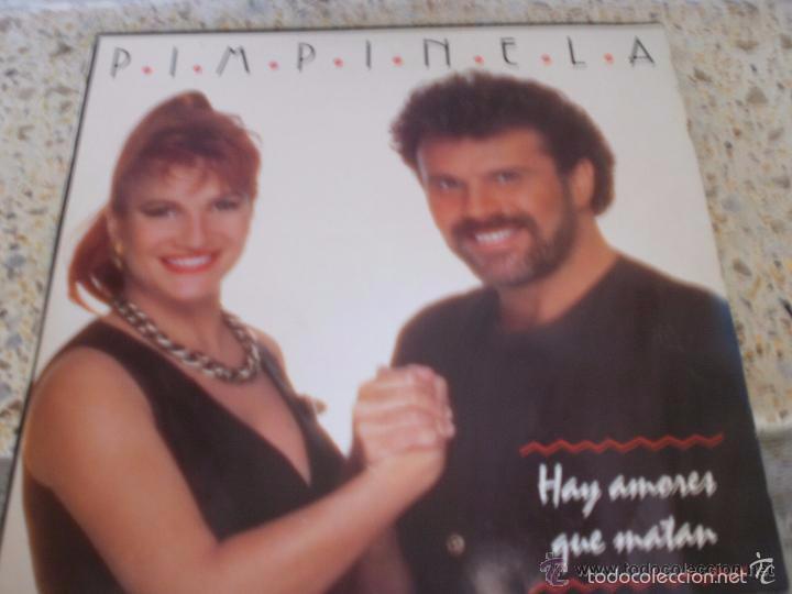 PIMPINELA- HAY AMORES QUE MATAN --SOLAMENTE ESTUCHE SIN DISCO -EN MAL ESTADO (Música - Discos - LP Vinilo - Grupos y Solistas de latinoamérica)