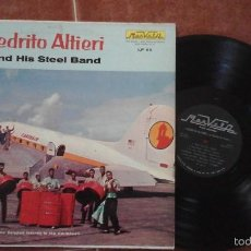 Discos de vinilo: PEDRITO ALTIERI AND HIS STEEL BAND LP MARVELA ?– LP 62 PUERTO RICO. Lote 58249027