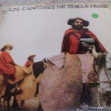 Discos de vinilo: LOS CANTORES DE QUILLA HUASI - PORTADAS EN MAL ESTADO. Lote 58249056