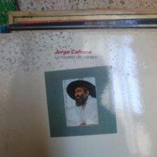 Discos de vinilo: JORGE CAFRUNE - LA MUERTE DEL MINERO - EN MAL ESTADO. Lote 58249224