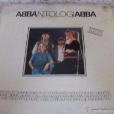 Discos de vinilo: ABBA ANTOLOGIA - DISCO EN MAL ESTADO -- REFALYAEMEX9MECOMITI. Lote 58250151