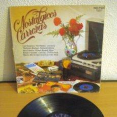 Discos de vinilo: RECOPILATORIO NOSTÁLGICOS CARROZAS - BELTER 9-02.001. AÑO 1981. Lote 58260237