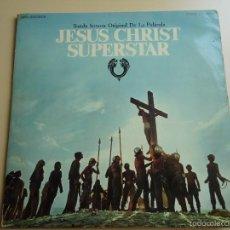 Discos de vinilo: L.P. BANDA SONORA ORIGINAL CON DOS DISCOS DE LA PELÍCULA, JESUS CHRIST SUPERSTAR.Y LIBRETO.VER.. Lote 58264596