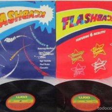 Discos de vinilo: LOTE FLASHBACK VOL 1 + 2 - 2 LP - ABBA / ELVIS PRESLEY / BEACH BOYS - N MINT. Lote 58269428