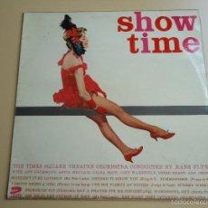 Discos de vinilo: L.P. SHOW TIME. GRAN ORQUESTA DE HANS FLYNN. CON TEMAS VARIADOS.. Lote 58269455