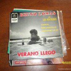 Discos de vinilo: BRUNO LOMAS. Lote 58271192