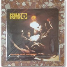 Discos de vinilo: VINILO LP PUBLIC ENEMY - YO!, BUM RUSH THE SHOW (EDICIÓN ORIGINAL 1987) RAP HIP HOP. Lote 58272188
