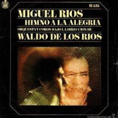 Discos de vinilo: MIGUEL RIOS .. SINGLE. Lote 58272612