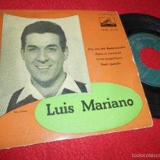 Discos de vinilo: LUIS MARIANO CHA CHA CHA MADEMOISELLE/DAME TU JUVENTUD/C'EST MAGNIFIQUE +1 EP 195? SPAIN ESPAÑA. Lote 58277857