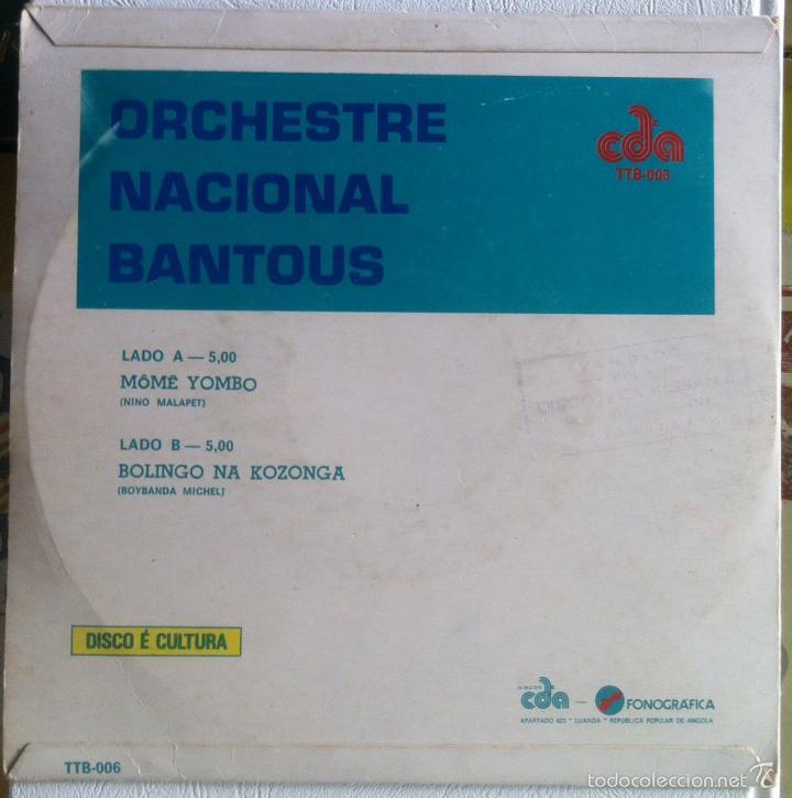 Discos de vinilo: Orchestre Nacional Bantous. Mômê Yombo + Bolingo na Kozonga. 1978 - Foto 2 - 58280476