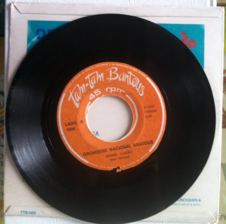Discos de vinilo: Orchestre Nacional Bantous. Mômê Yombo + Bolingo na Kozonga. 1978 - Foto 3 - 58280476