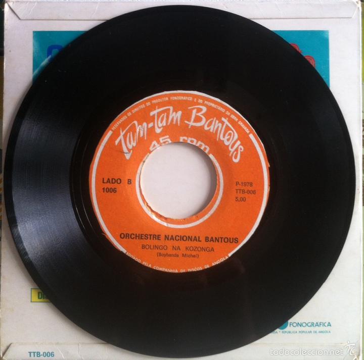 Discos de vinilo: Orchestre Nacional Bantous. Mômê Yombo + Bolingo na Kozonga. 1978 - Foto 4 - 58280476