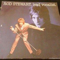 Discos de vinilo: ROD STEWARD - LEAD VOCALIST - LP VINILO. Lote 58280785