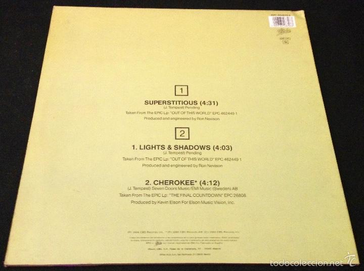 Discos de vinilo: EUROPE SUPERSTITIOUS - MAXI SINGLE VINILO - Foto 2 - 58280953
