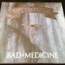 Discos de vinilo: BON JOVI - BAD MEDICINE . Lote 58280967
