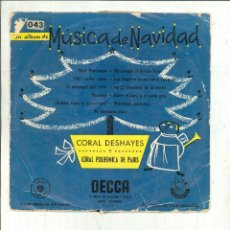 Discos de vinilo: MÚSICA DE NAVIDAD. CORAL DESHAYES Y CORAL POLIFÓNICA DE PARÍS. Lote 58289616