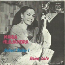Discos de vinilo: MARIA ALEJANDRA. SINGLE. SELLO PHILIPS. EDIT. EN ESPAÑA. AÑO 1968. Lote 58294171