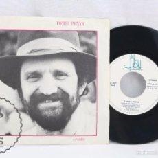 Discos de vinilo: DISCO SINGLE DE VINILO - TOMEU PENYA. COVERBOS. FEIXETS DE CABELLS... - BLAU, AÑO 1984 - CATALÁN. Lote 58295979