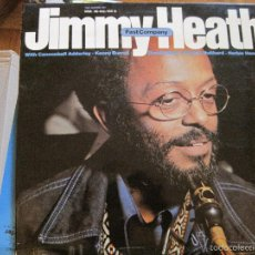 Discos de vinilo: LP-JIMMY HEAT FAST COMPANY MILESTONE MARFER 40102/3 JAZZ DOBLE LP. Lote 58297263