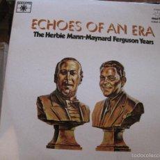 Discos de vinilo: LP-THE HERBIE MANN / MAYNARD FERGUSON YEARS ROULETTE MARFER 21 DOBLE LP JAZZ. Lote 58297358