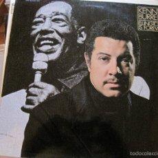 Discos de vinilo: LP-KENNY BURRELL ELLINGTON IS FOREVER FANTASY MARFER 40011/2 DOBLE LP JAZZ. Lote 58297400