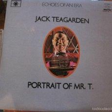 Discos de vinilo: LP-JACK TEAGARDEN PORTRAIT OF MR. T ROULETTE MARFER 34 DOBLE LP JAZZ. Lote 58297472