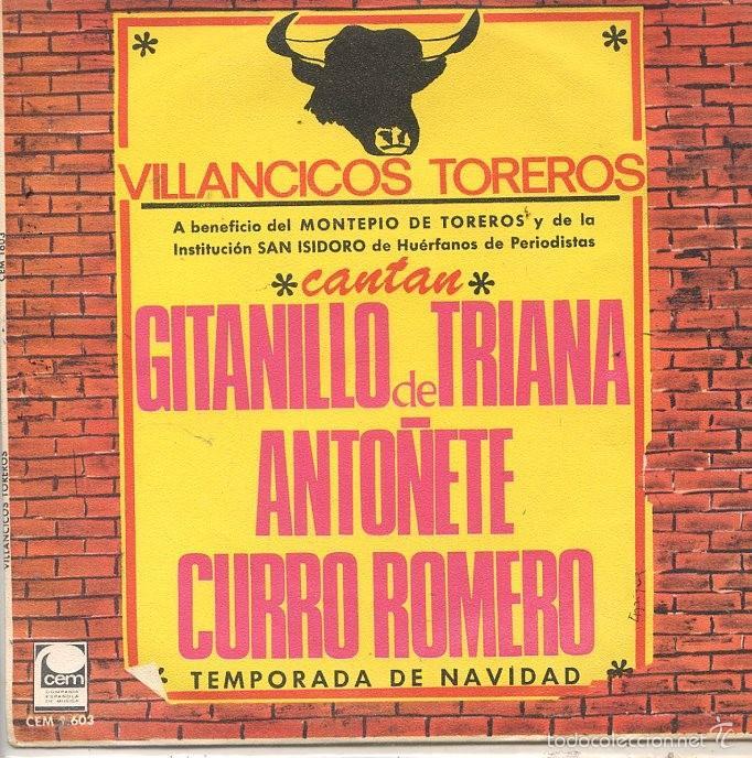 VILLANCICOS TOREROS / BALADA DE NAVIDAD / ¡OLE MI NIÑO! (SINGLE 1967) (Música - Discos - Singles Vinilo - Flamenco, Canción española y Cuplé)