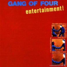 Discos de vinilo: LP GANG OF FOUR ENTERTAIMENT VINILO. Lote 58300227