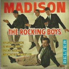Discos de vinilo: THE ROCKING BOYS EP SELLO BELTER AÑO 1962 EDITADO EN ESPAÑA. Lote 58300619