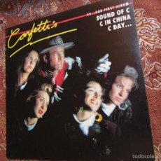 Discos de vinilo: CONFETTI'S- LP DE VINILO IMPORTACION USA RECORD-TITULO 92- CON 10 TEMAS DEL 89-. Lote 58300764