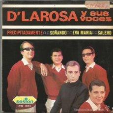 Discos de vinilo: D´LAROSA Y SUS VOCES EP SELLO SESION AÑO 1966 EDITADO EN ESPAÑA. Lote 58301028