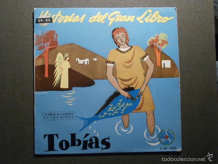 HISTORIAS DEL GRAN LIBRO - TOBIAS - 2 TTB-4025 - 1961 - EP - LA BIBLIA AL ALCANCE DE TODOS (Música - Discos de Vinilo - EPs - Otros estilos)