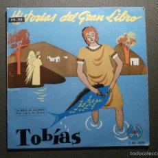 Discos de vinilo: HISTORIAS DEL GRAN LIBRO - TOBIAS - 2 TTB-4025 - 1961 - EP - LA BIBLIA AL ALCANCE DE TODOS. Lote 58303309